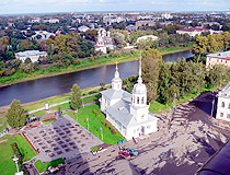 Vologda - the view from the bell tower of St. Sophia Cathedral