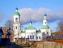 Cathedral in the Vologda region