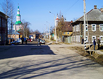 Totma - a small town in Vologda province