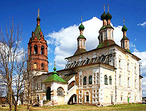 Vologda region church