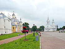 On the territory of the Vologda Kremlin