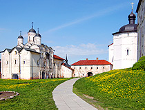 Monastery in Vologda region