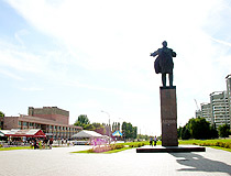 Lenina Square in Volzhsky