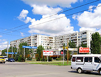 Apartment buildings in Volzhsky