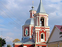Ilyinskaya Church in Voronezh
