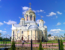 Orthodox cathedral in Voronezh province