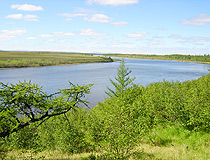 River in the Yamalo-Nenets region
