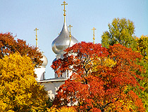 Golden autumn in Yaroslavl oblast