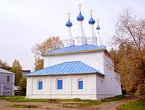 Church of Our Lady of Vladimir on Bozhedomka in Yaroslavl