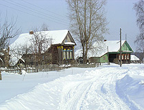 Winter in Yaroslavl province