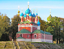 Beautiful churches of the Yaroslavl region