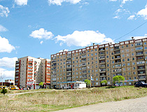 Apartment buildings in Zlatoust
