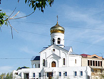Church of St. Simeon of Verkhoturye in Zlatoust