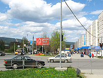 On the street in Zlatoust