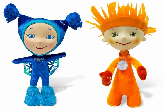 2014 Winter Olympic and Paralympic Games mascots