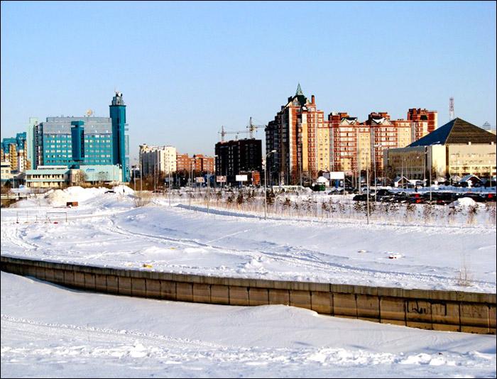 Surgut city, Russia general view