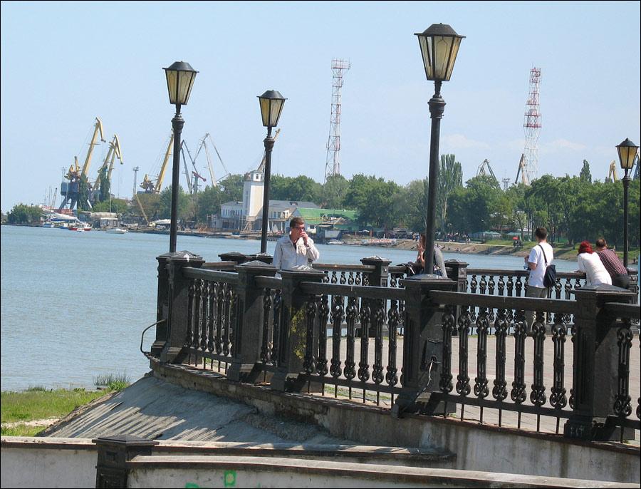Taganrog city, Russia view