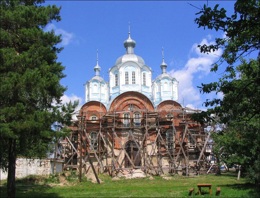 Tambov oblast, Russia church view