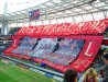 Inside the stadium Lokomotiv in Moscow