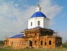 Restoration of the church in Orlovskaya oblast