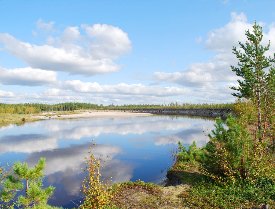 Tomsk oblast, Russia nature view