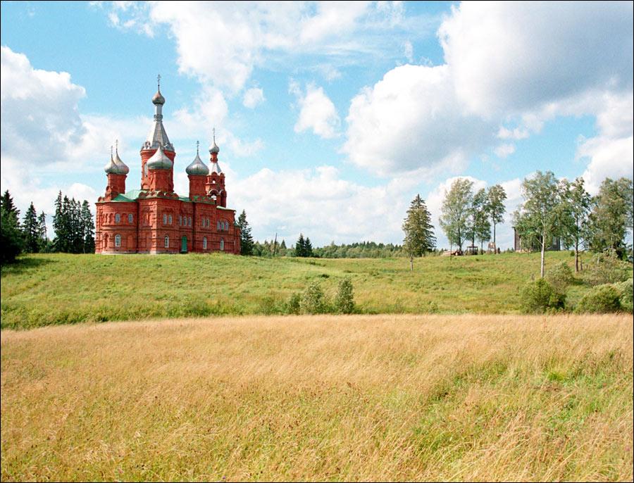 Tver oblast, Russia scenery