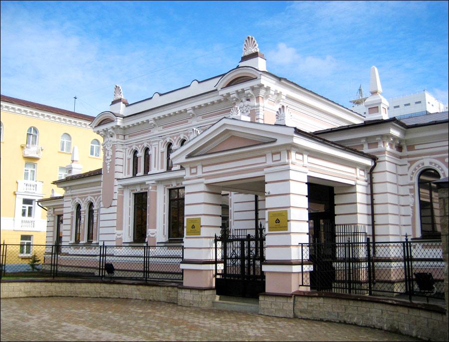 Ufa city, Russia museum view