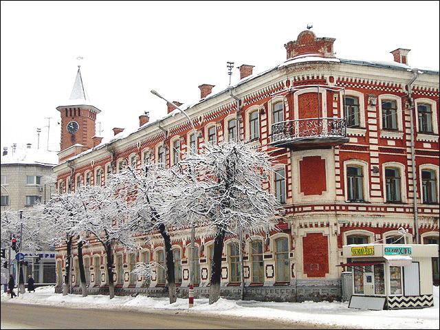Goncharovu0027s House in Ulyanovsk Ulyanovsk city Russia