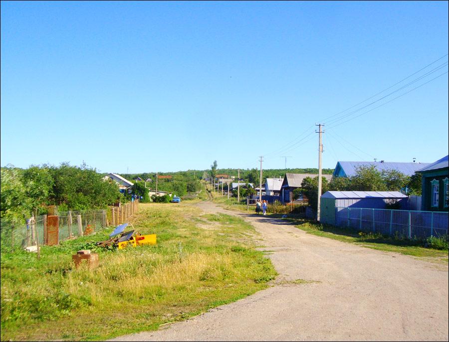 Ulyanovsk oblast, Russia village view