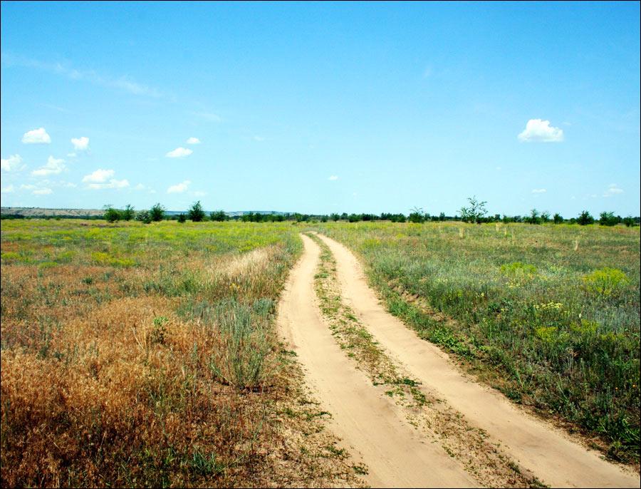 Volgograd oblast, Russia scenery
