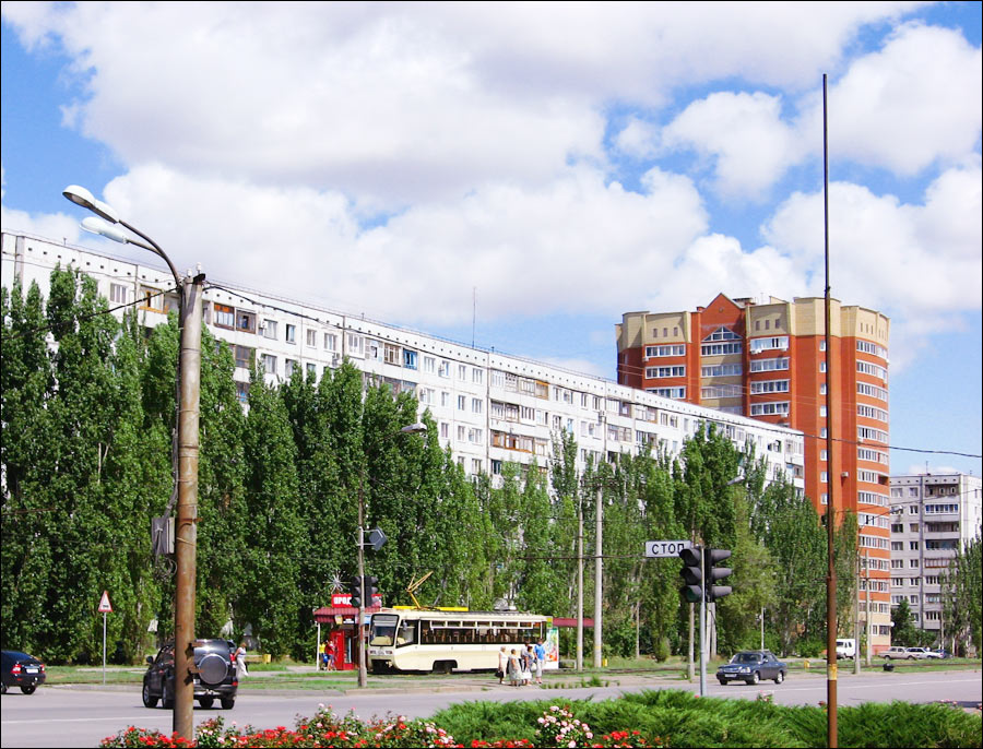 Volzhsky city, Russia street view