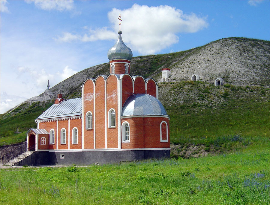 Voronezh oblast, Russia church view