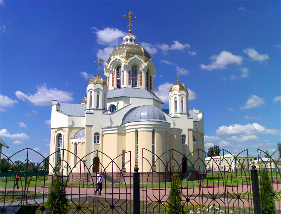 Voronezh Russia  city photo : voronezh russia oblast cathedral